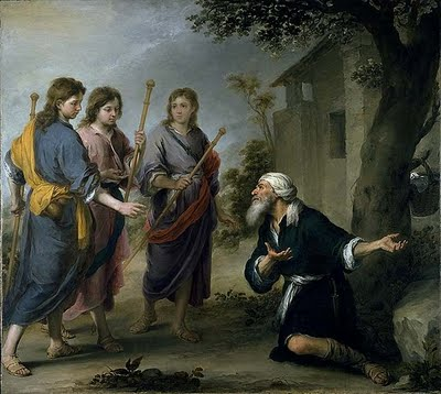 Who Are The Three Men In Genesis 18 For His Glory